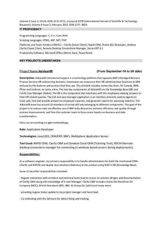 Chinmay Deshmukh Resume Slide 2
