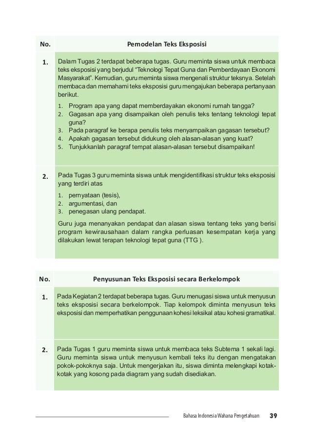 Buku Guru Bhs Indonesia Kelas 7 Smp Loak Info