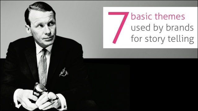 7  basic themes used by brands for story telling
