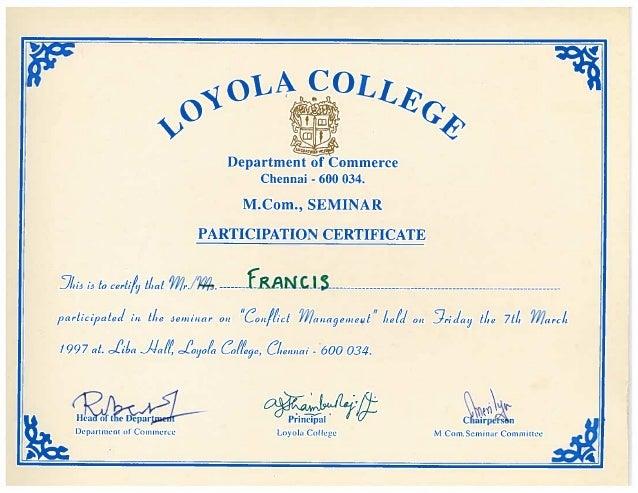 Conflict Management Certificate