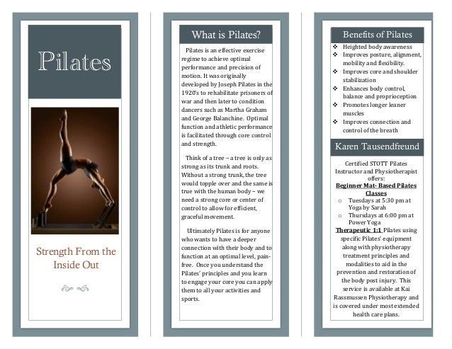 Pilates Brochure 2 2014