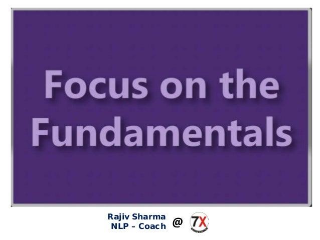 Rajiv Sharma NLP – Coach @