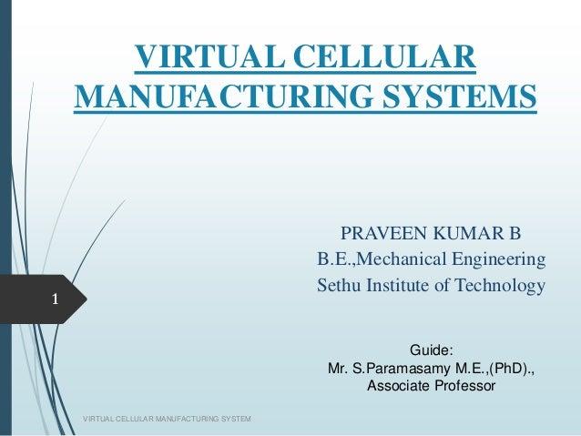 Design Of Virtual Cellular Manufacturing Using Optimization Techniques