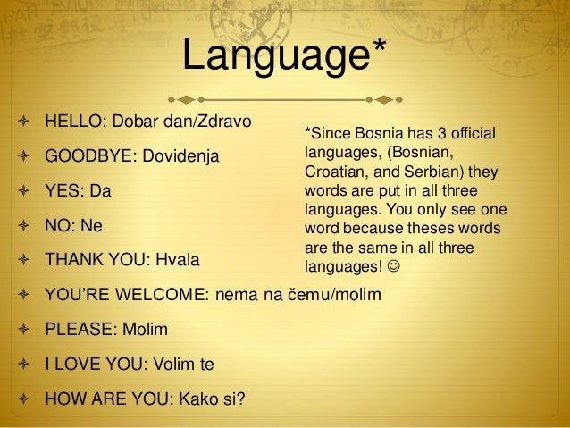 how to say thank you in bosnian