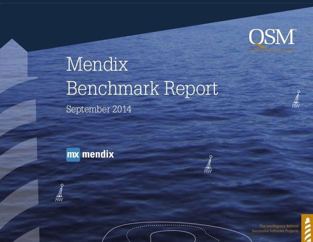 Mendix Benchmark Report September 2014