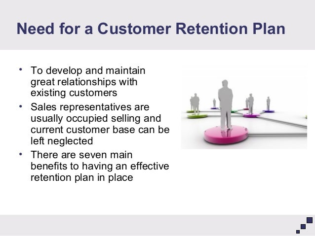 Customer retention business plan