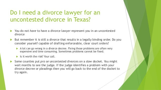 7 benefits of uncontested divorce in texas do i need a divorce solutioingenieria Gallery