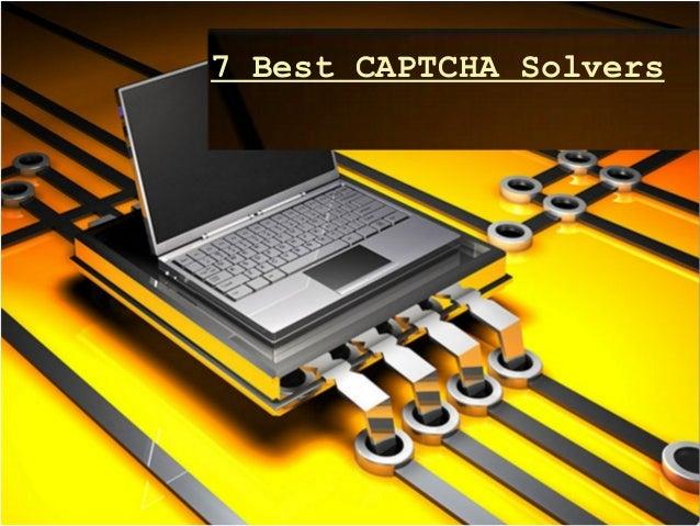 7 Best Captcha Solvers