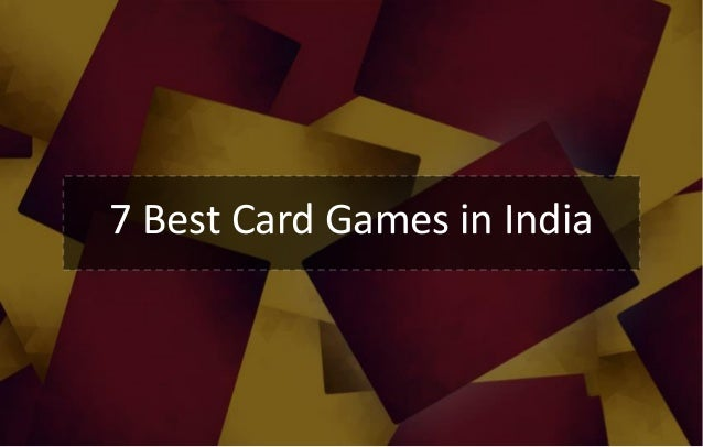 7 Best Card Games in India