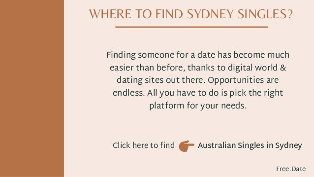 what are the best dating sites in sydney