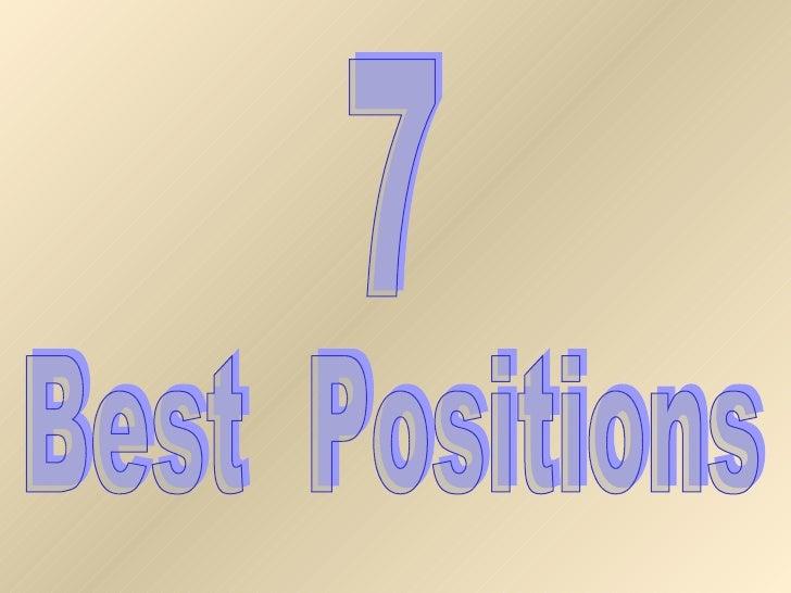 7 best positions