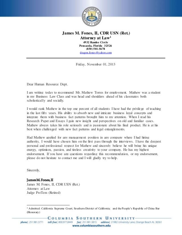 James M. Fones, II, CDR USN (Ret.) Attorney at Law1 4932 Randee Circle Pensacola, Florida 32526 (850) 501-5678 dragon.fone...
