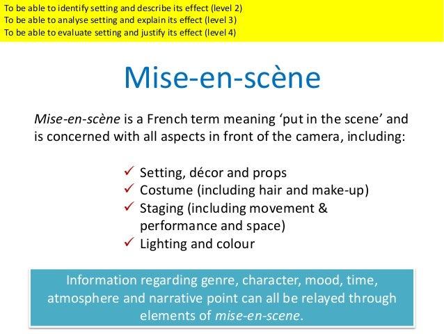 analyse the use of performance mise en scène in Master of arts theatre overview  theory of performance,  l'étudiant présente un rapport détaillé et une analyse du processus de mise en scène auquel il a.