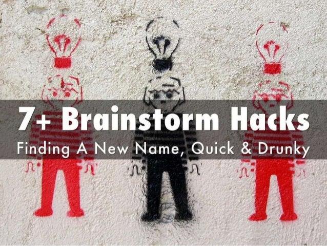 """. .  """"KT.   0 V ' 5 .   7+ Brainstorm Finding A New Name,  uick & Drunky                i'-  _.   _ ' .  1' . . .  ._ ' I ..."""