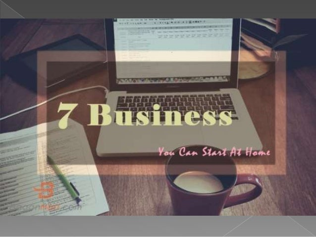  If you want to work for yourself or want to spend more time with family, start a business from home can be the perfect s...