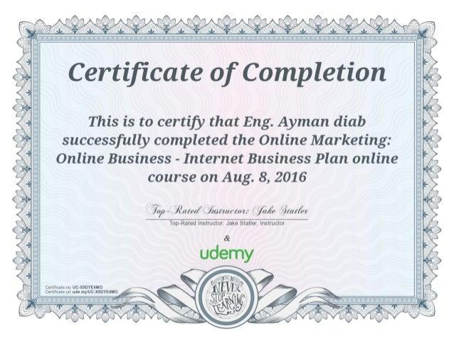 Online Marketing Online Business - Internet Business Plan