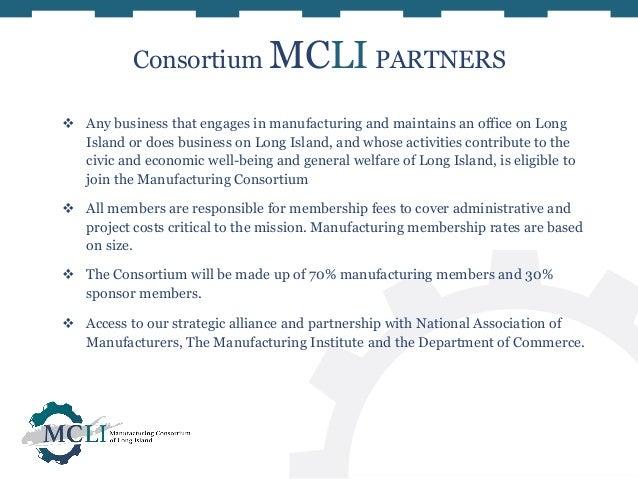 Manufacturing Consortium Of Long Island