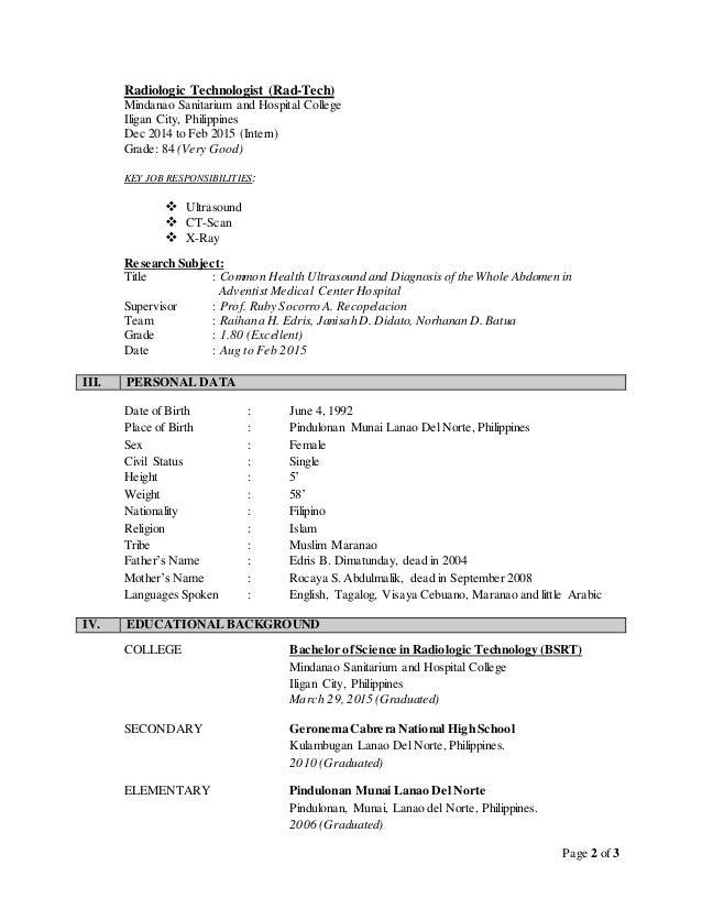 CV of raihan edris