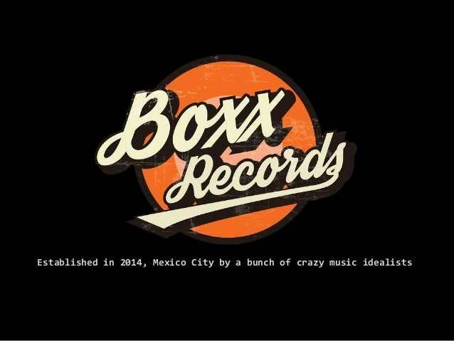 Established in 2014, Mexico City by a bunch of crazy music idealists