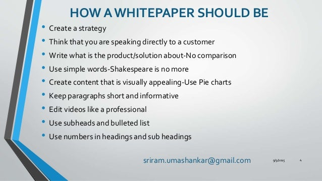 Creating A White Paper That Helps In Lead Capturing