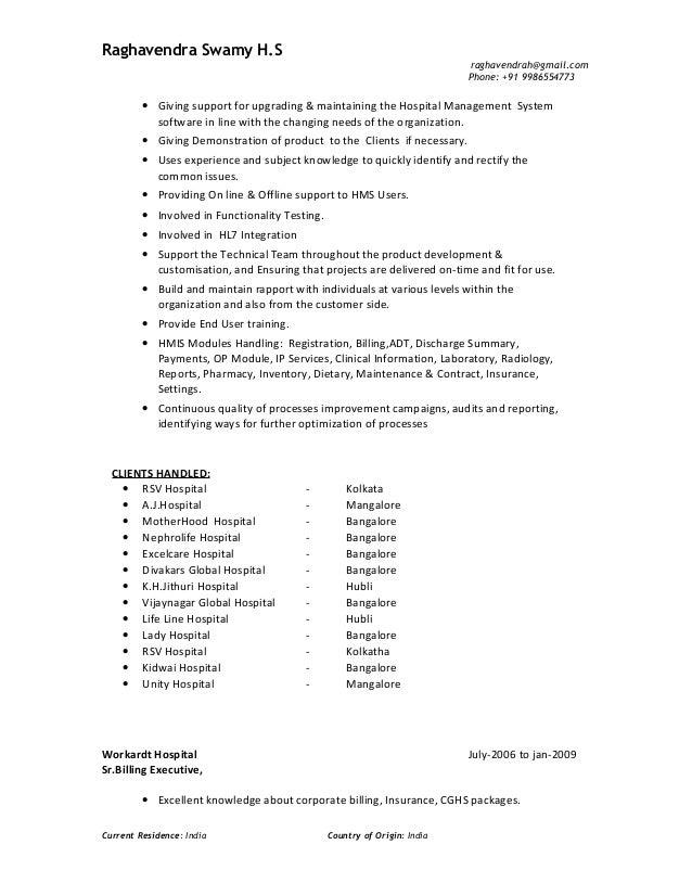 resume i 2