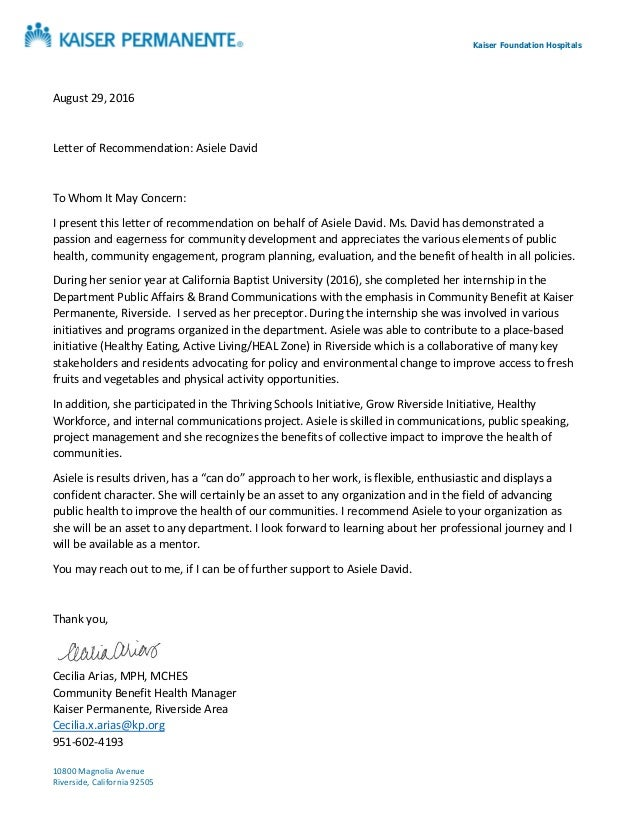 letter of recommendation asiele david 9 2016