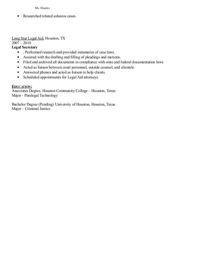 Paralegal Resume And Search Paralegal Resume Objective Template  Paralegal Resume Objective