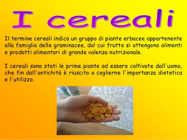7 carboidrati, fibra alimentare, cereali e tuberi
