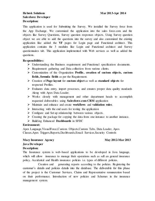 venkatesh sfdc resume