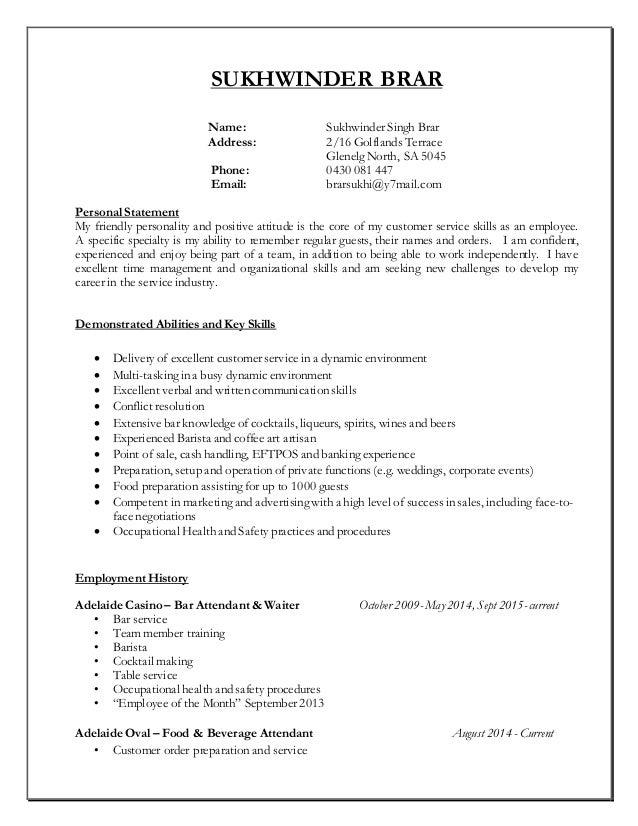 sukhwinder resume