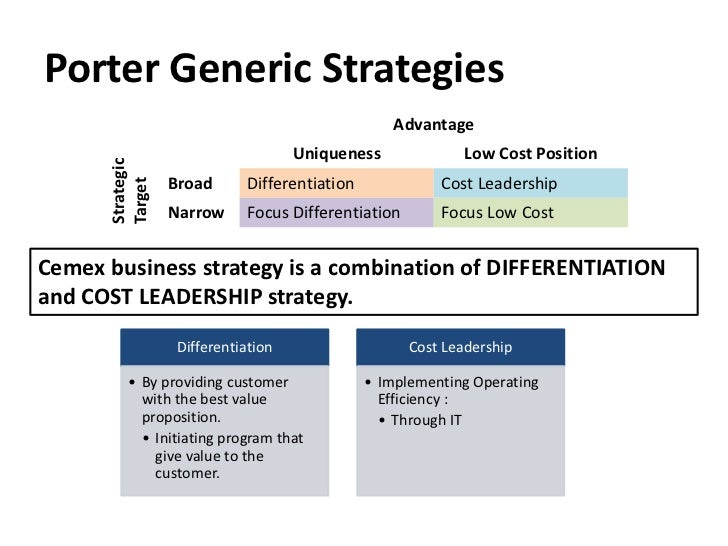 nestle implementing porter generic strategy According to porter generic (1980) low cost and differentiation strategy  constitute and effective strategy in  the implementation of the hybrid strategy  provides multiple sources of  the problem confronting the research is to  appraise the effects of hybrid strategy on organizational performance (a case  study of nestle plc.