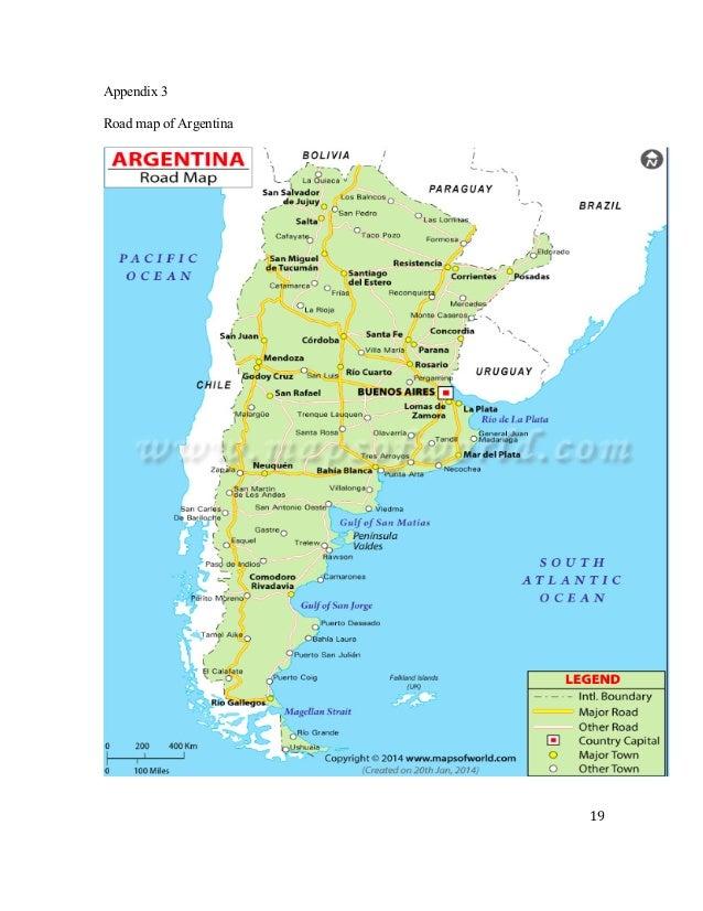 Whole Foods Market Pdf - Argentina map pdf
