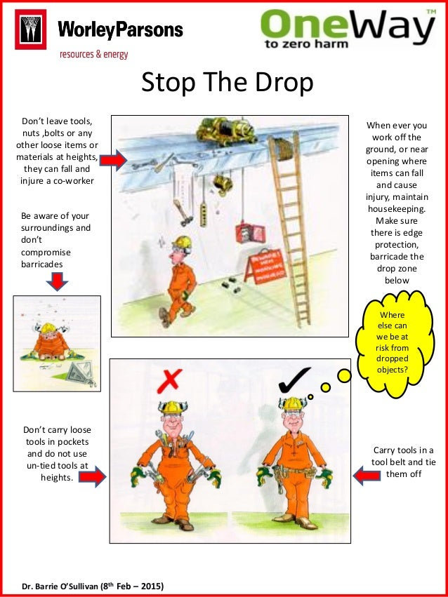 Fall Prevention Safety Posters Roll Out