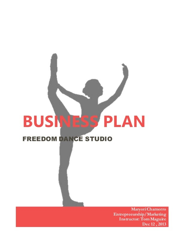 Business plan for a dance studio