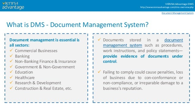 7 Characteristics Of Ideal Document Management System Dms
