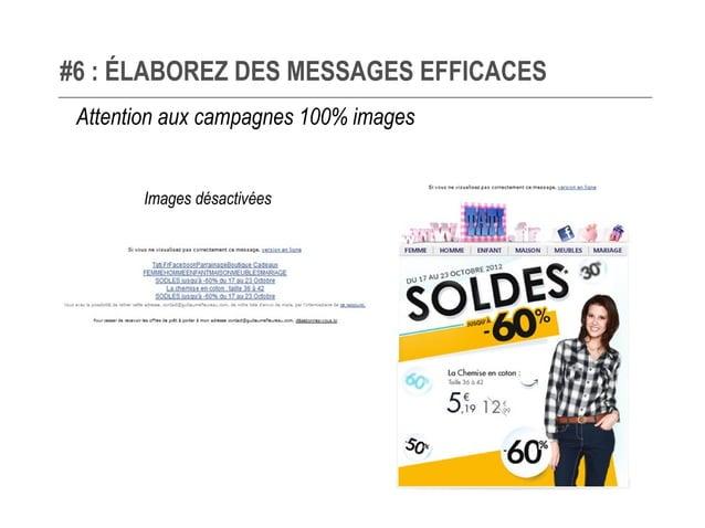 #6 : ÉLABOREZ DES MESSAGES EFFICACES