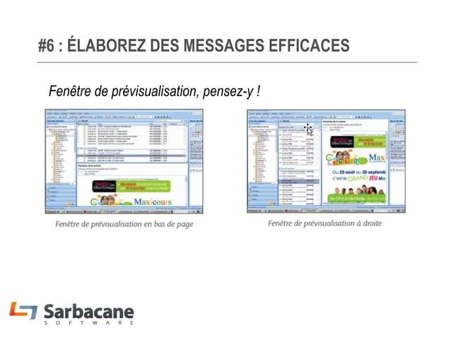 #6 : ÉLABOREZ DES MESSAGES EFFICACES Page d'atterrissage optimisée