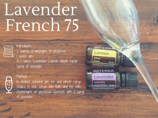 7 Cocktails With Doterra Essential Oils
