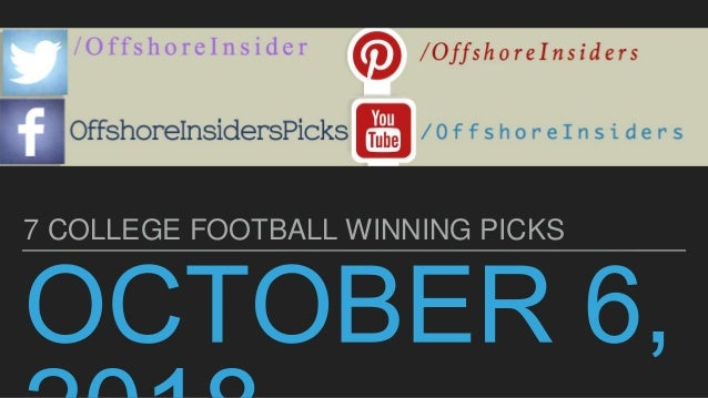 7 college football expert picks free