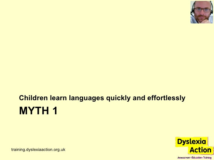 7 Common Myths About Language And Learning Slide 3