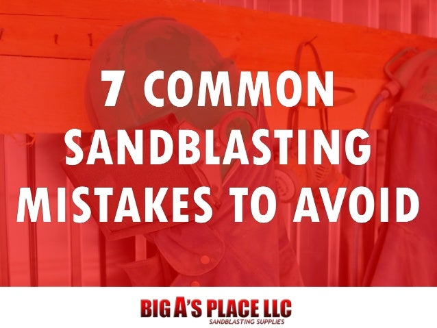 When used properly, a sandblaster is an incredibly useful and powerful tool. But when used incorrectly, it can easily caus...