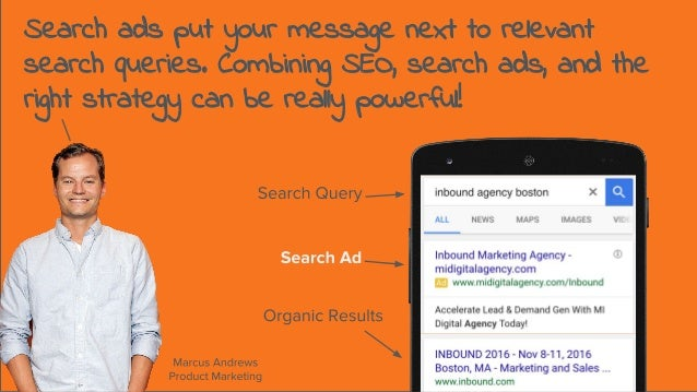 Search ads put your message next to relevant search queries. Combining SEO, search ads, and the right strategy can be real...