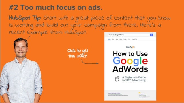 HubSpot Tip: Start with a great piece of content that you know is working and build out your campaign from there. Here's a...
