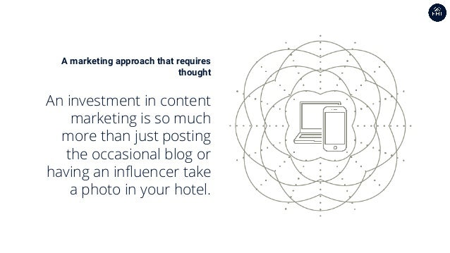 A marketing approach that requires thought An investment in content marketing is so much more than just posting the occasi...