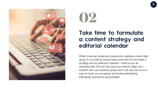 While it may be tempting to jump into creating content right away, it is crucial to always take some time to formulate a s...
