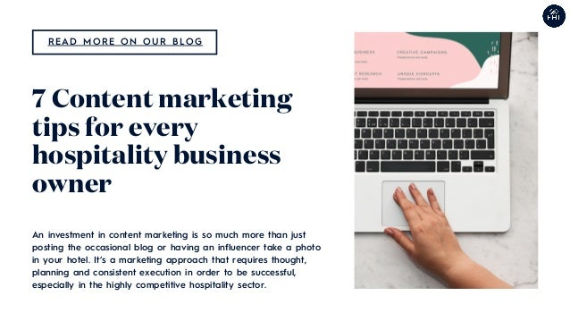 An investment in content marketing is so much more than just posting the occasional blog or having an influencer take a ph...
