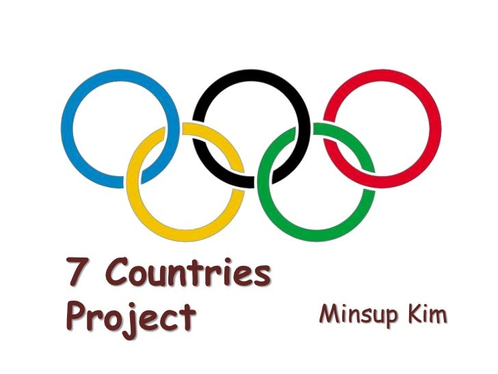 7 Countries Project <br />Minsup Kim<br />