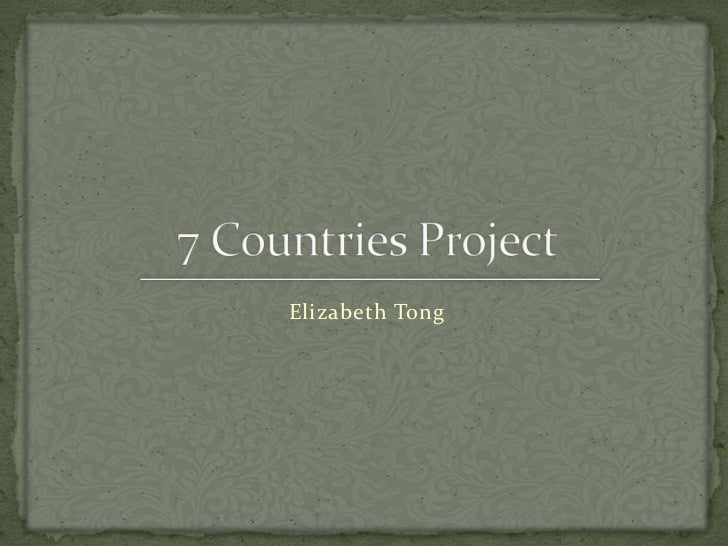 7 countries projectong