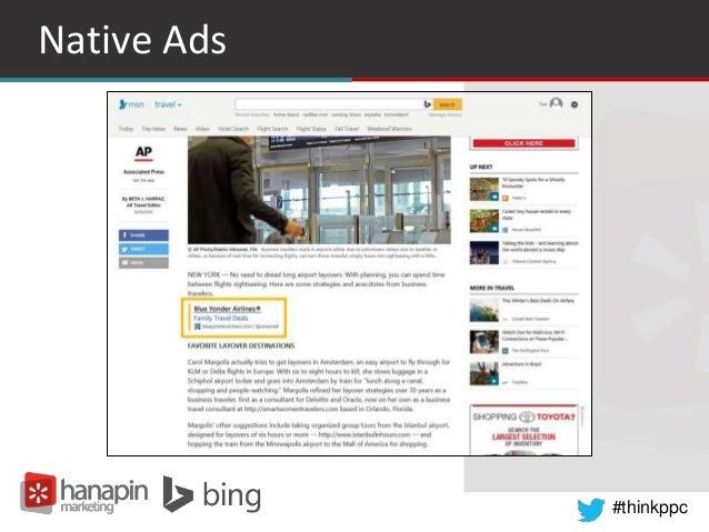 #thinkppc Native Ads