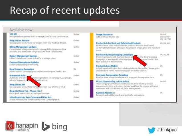 #thinkppc Recap of recent updates